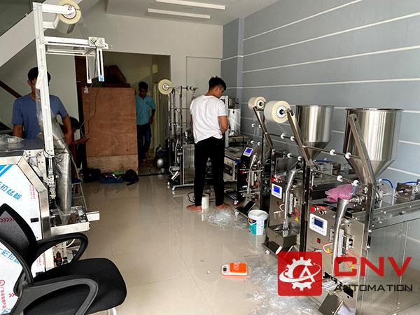 Dự Án Máy Đóng Gói Dung Dịch Đá Gel Thủy Đông TPHCM